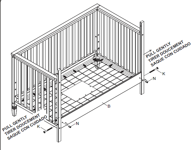 delta 6322 3 in 1 crib assembly instructions