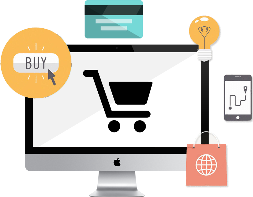 Difference between ecommerce and web application