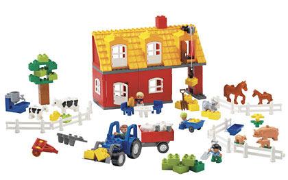 duplo farm house instructions
