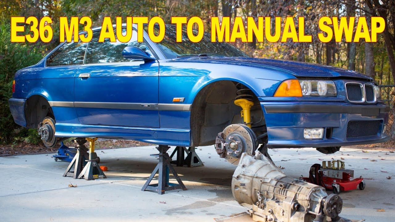 E36 m3 manual swap kit