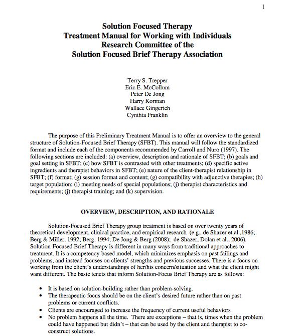 use tf-cbt in treatment manual