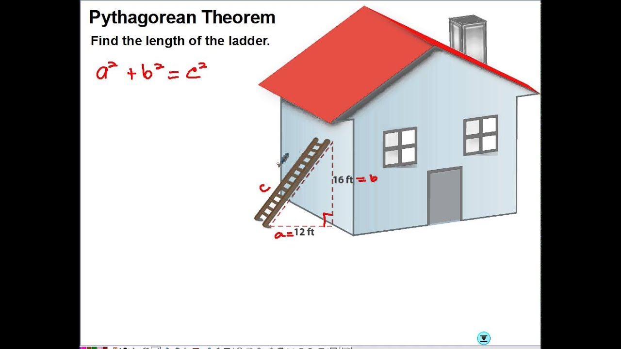 Pythagorean theorem real life application