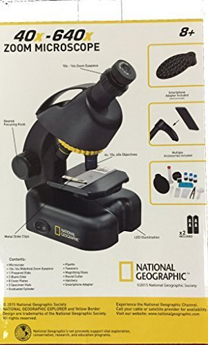 national geographic zoom microscope instructions