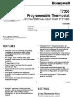 Honeywell thermostat visionpro 8000 installation manual