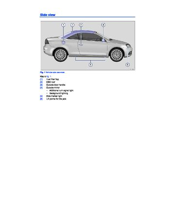 2009 volkswagen eos owners manual