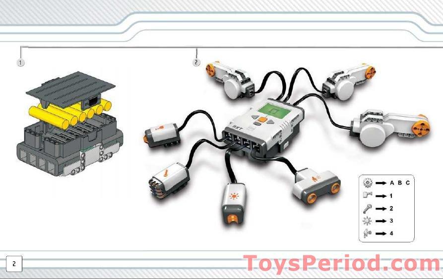 Mindstorms nxt 2.0 building instructions pdf