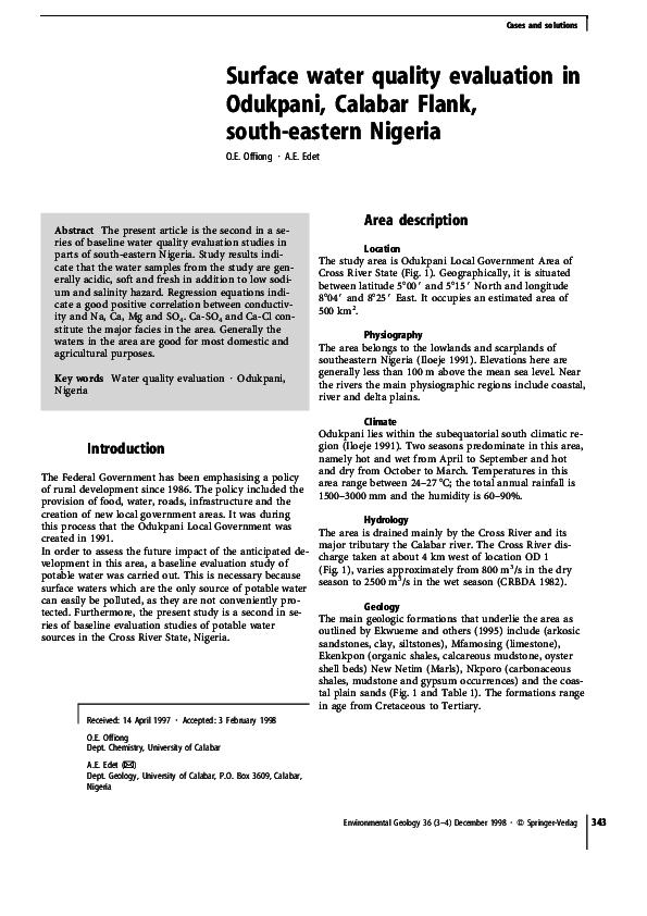 Edet lives in calabar pdf