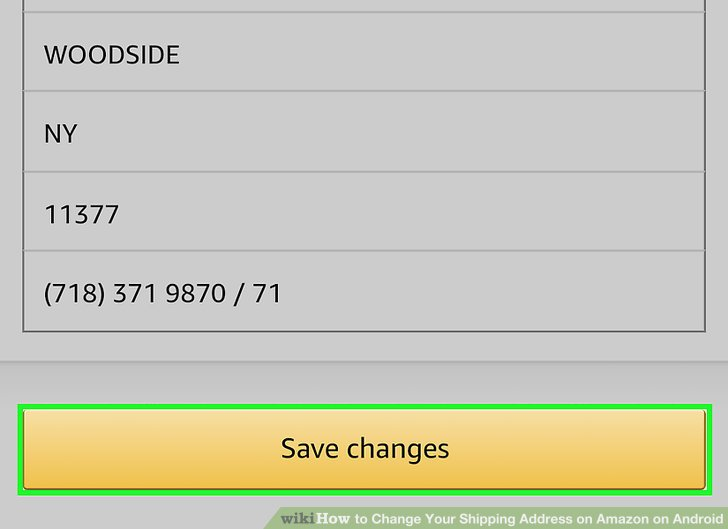 Koodo how to change shipping address
