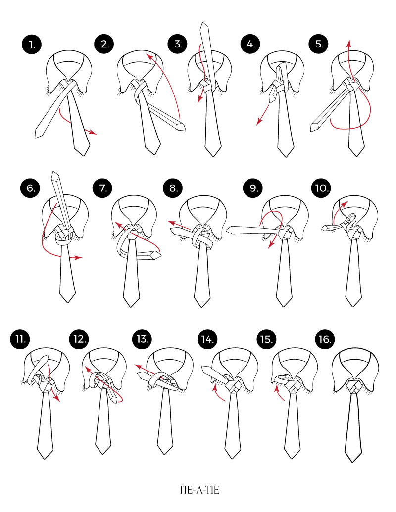eldredge tie knots instructions