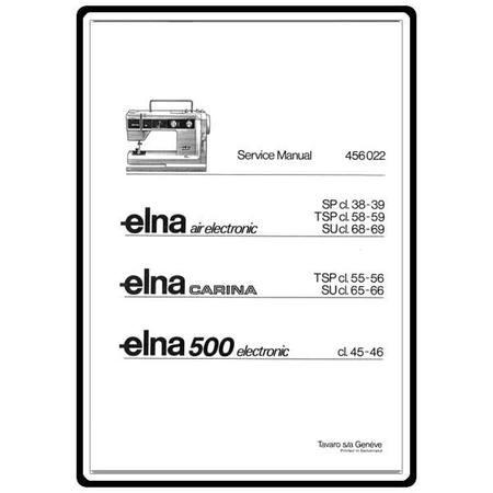 elna club 500 service manual