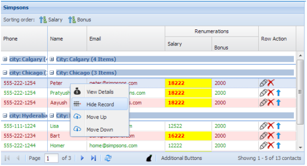 Extjs 4.2 treegrid example