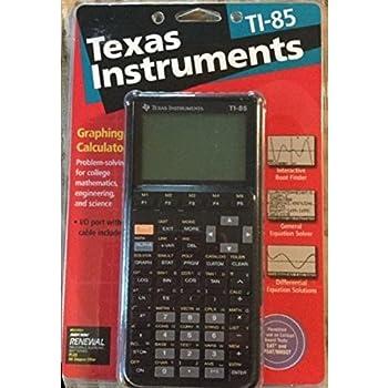 Texas instruments ti 85 manual
