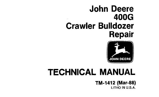 john deere 400 service manual download