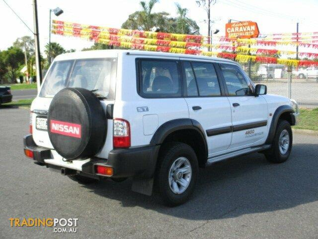 2002 nissan patrol st gu iii manual 4x4 my02