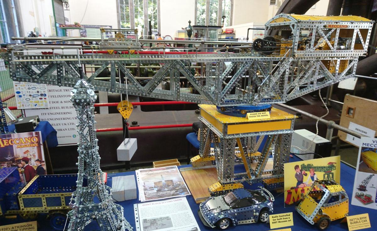 Meccano block setting crane instructions