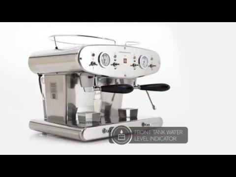illy espresso machine instructions