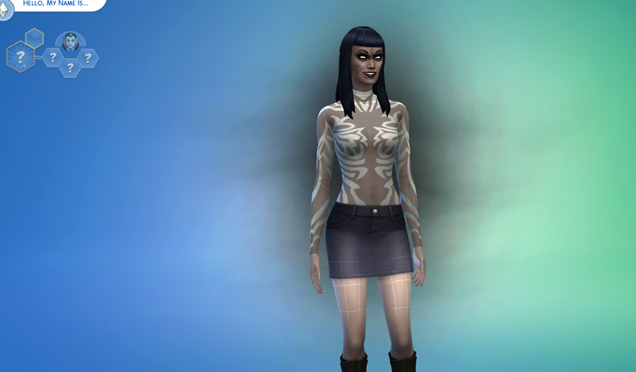 Sims 4 how to change dark form