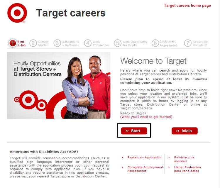 Super target job application online