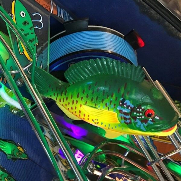 fish tales pinball instruction cards