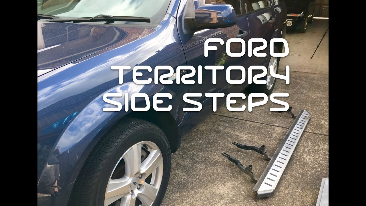 ford territory towbar instructions
