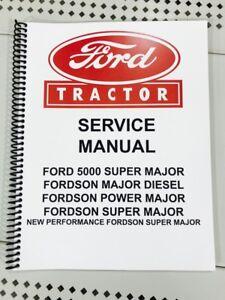 Fordson super major repair manual