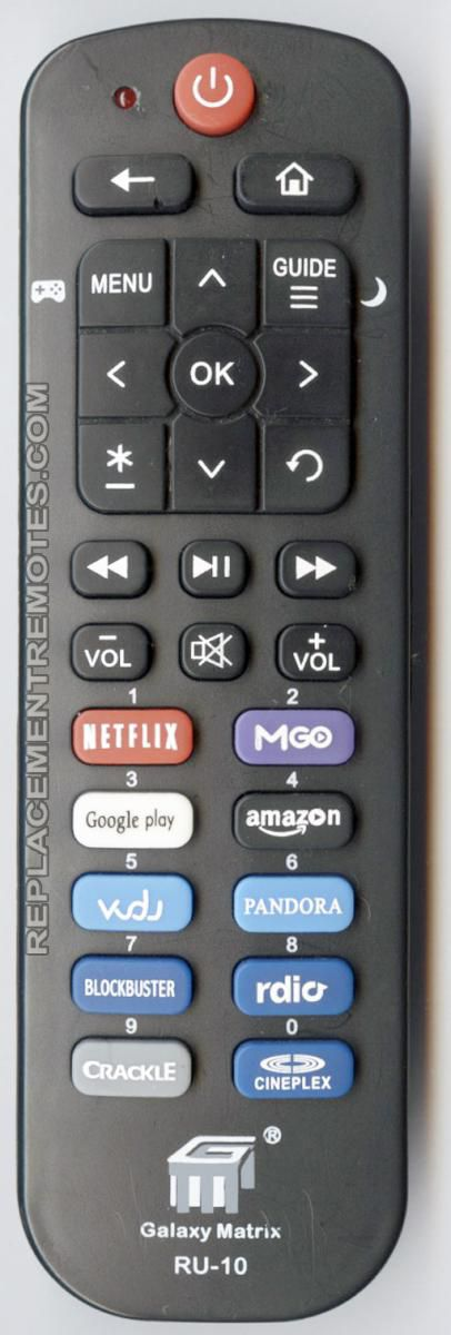 Galaxy matrix universal remote manual