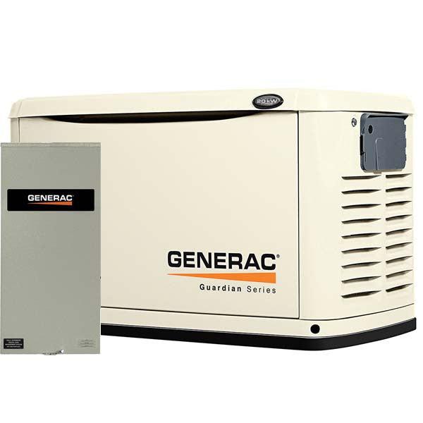 Generac guardian 20kw owners manual