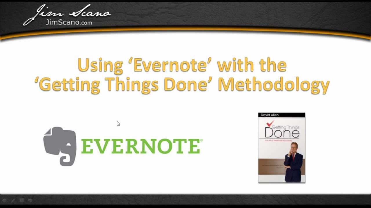 Getting things done outlook pdf