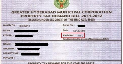 Ghmc property tax assessment application form