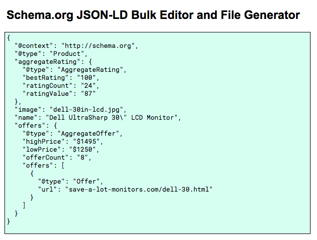 Google script type application ld json