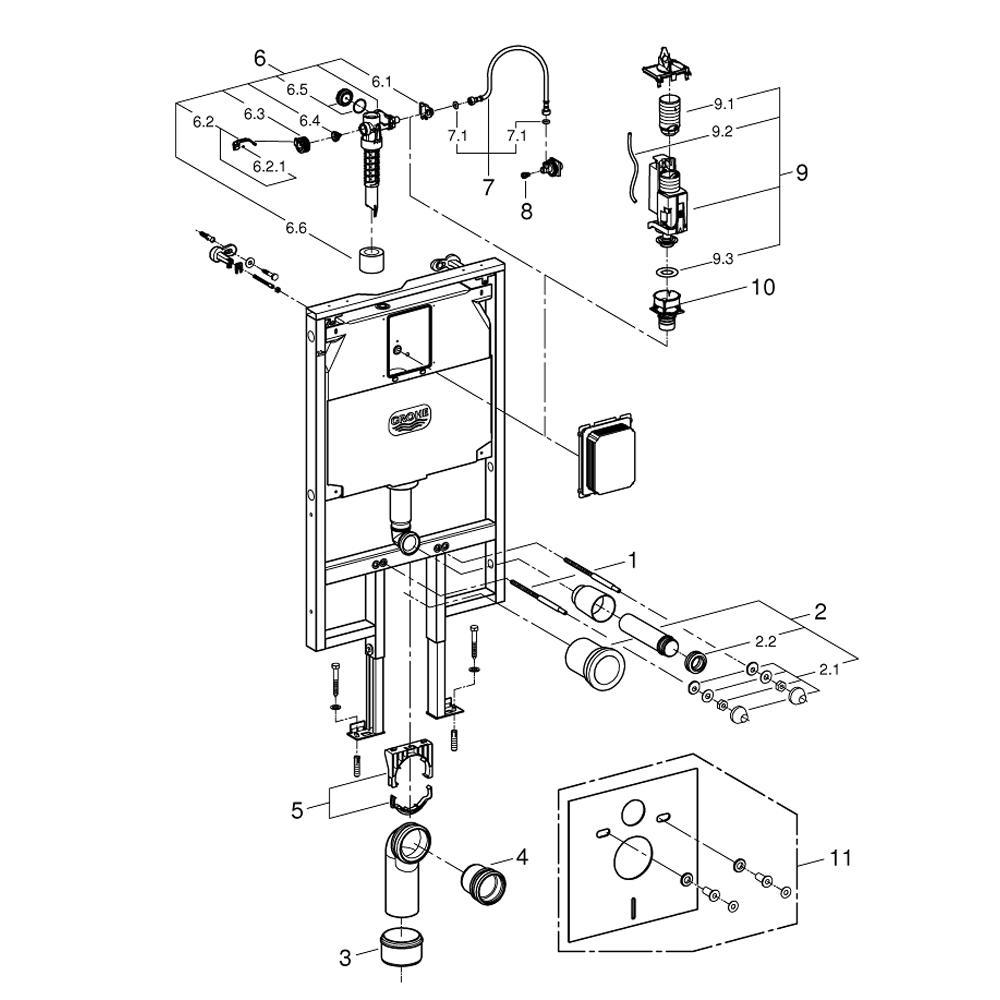 Grohe rapid sl installation manual