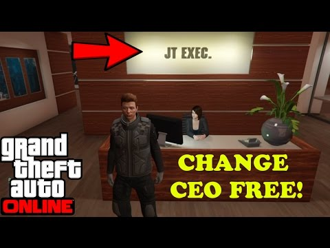 Gta 5 how to change crew name