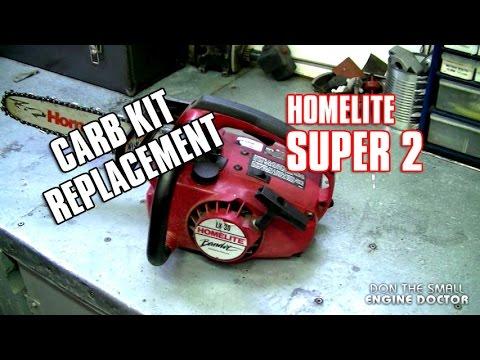 Homelite super 2 chainsaw manual