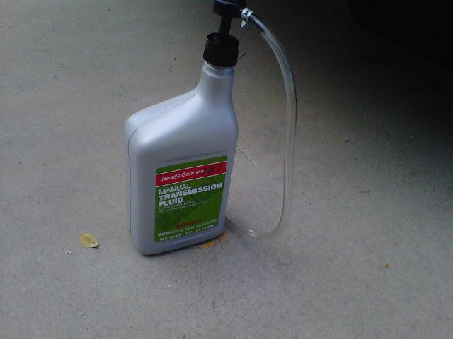 honda manual transmission fluid price