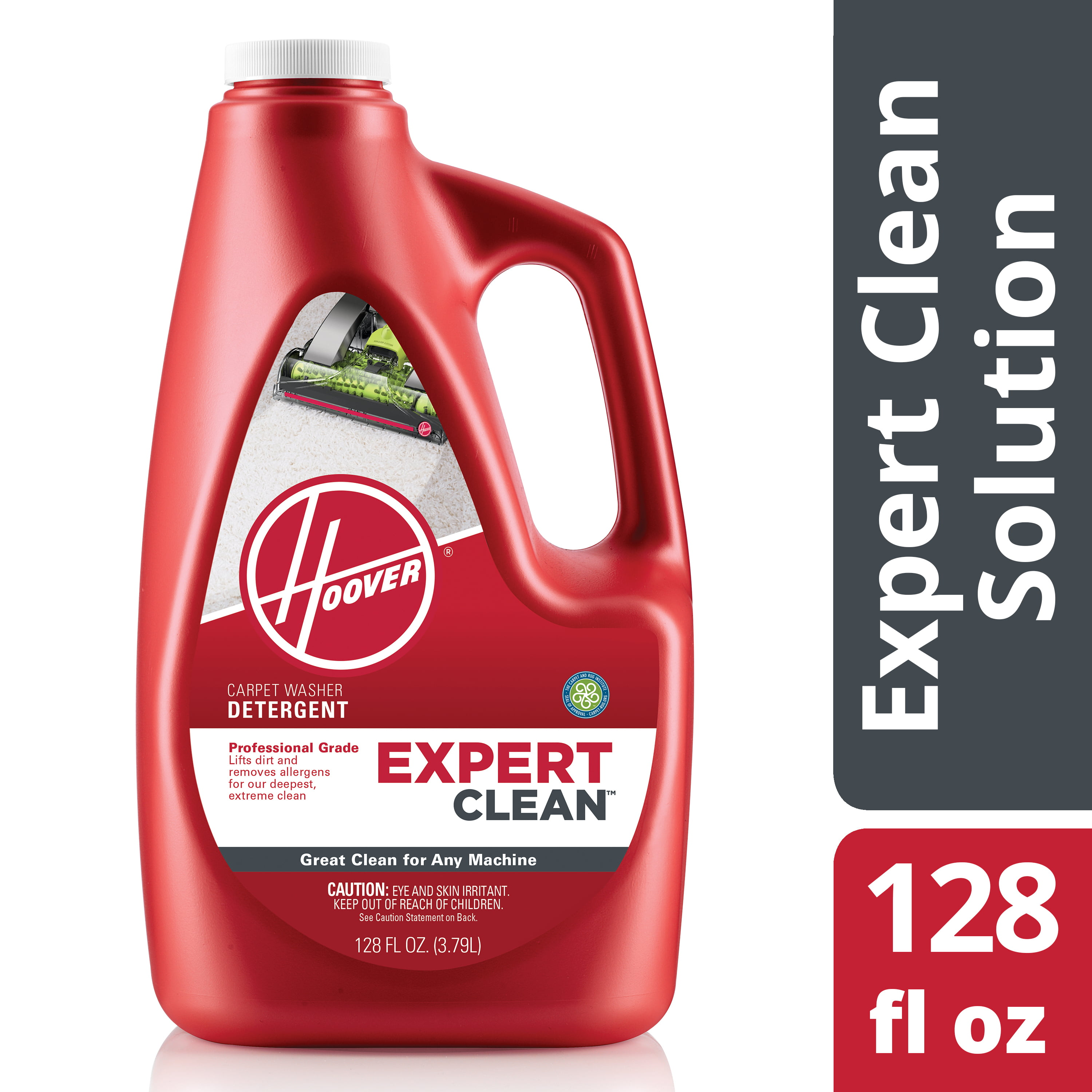 hoover expert clean detergent instructions