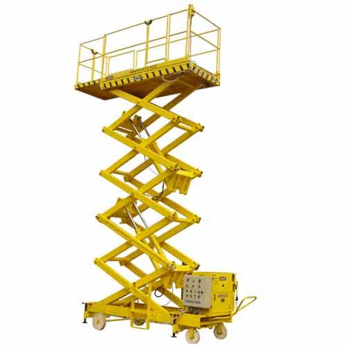 Hyster reach stacker manual hydraulic platform