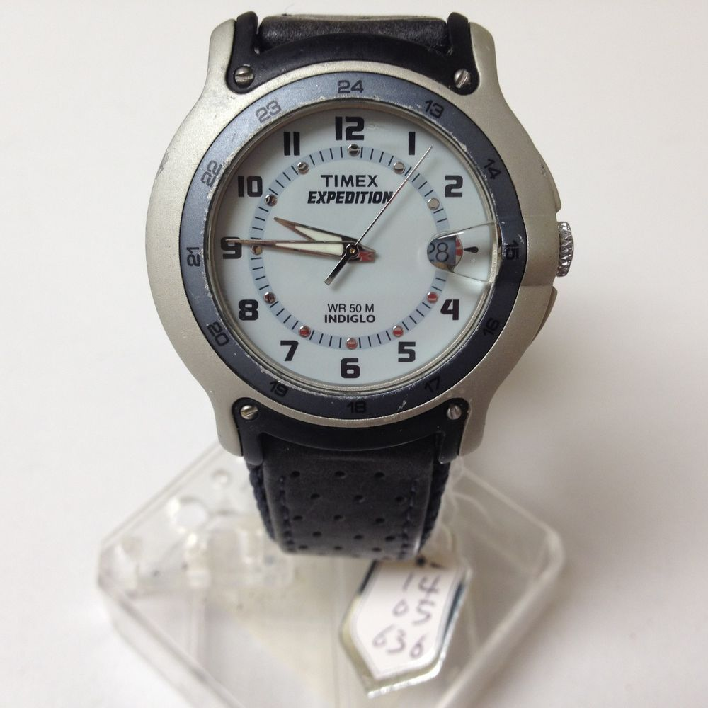 instructions for timex expedition indiglo watch