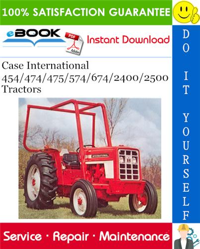 International 454 tractor manual download