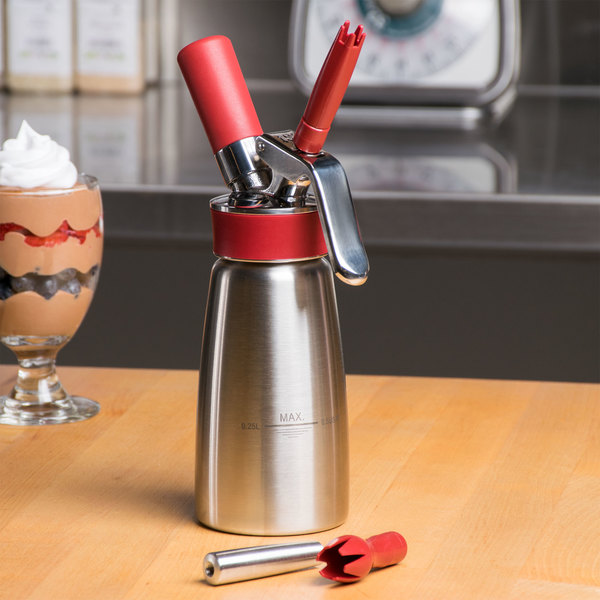 isi whipped cream dispenser instructions