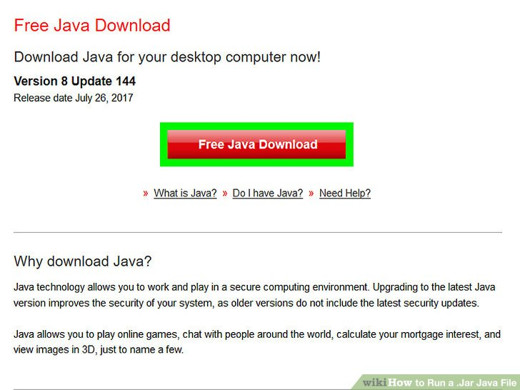 Java how to run a file