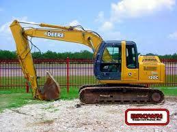 John deere 120c excavator service manual