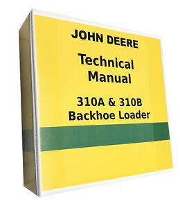 john deere 300b backhoe manual
