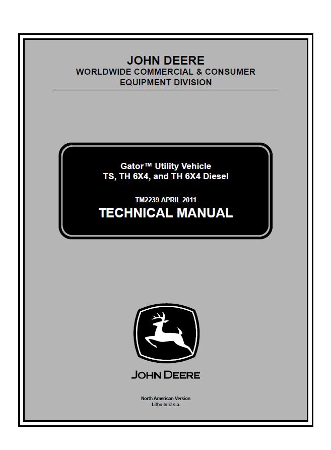 John deere gator 6x4 parts manual