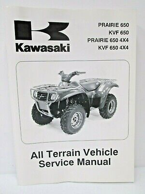 Kawasaki kvf 400 service manual