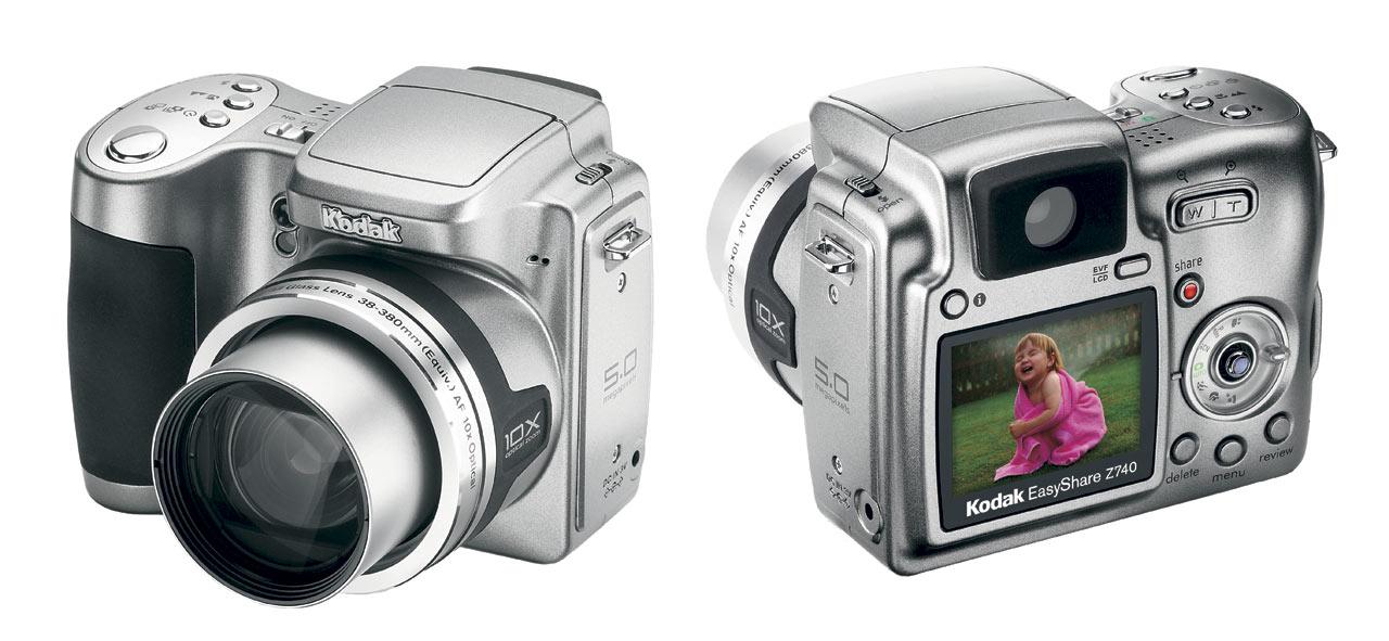 Kodak easyshare z740 camera manual