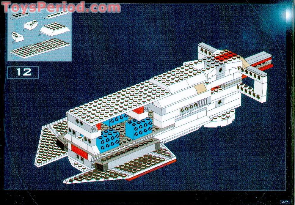 Lego blockade runner instructions