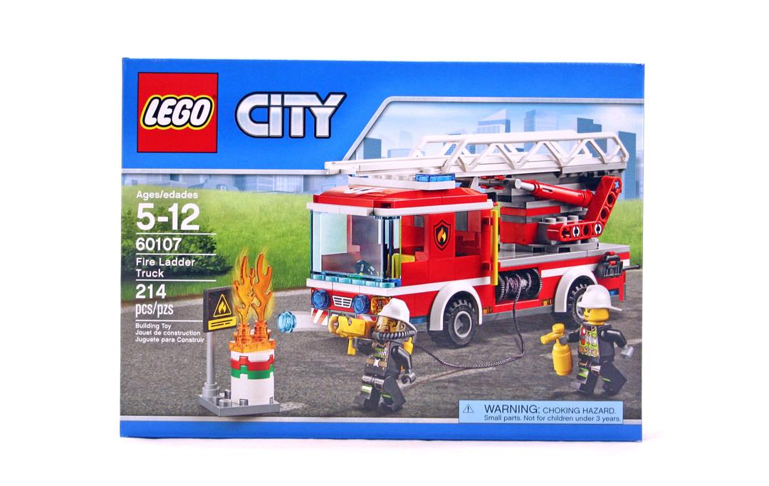 lego city fire truck instructions 60107