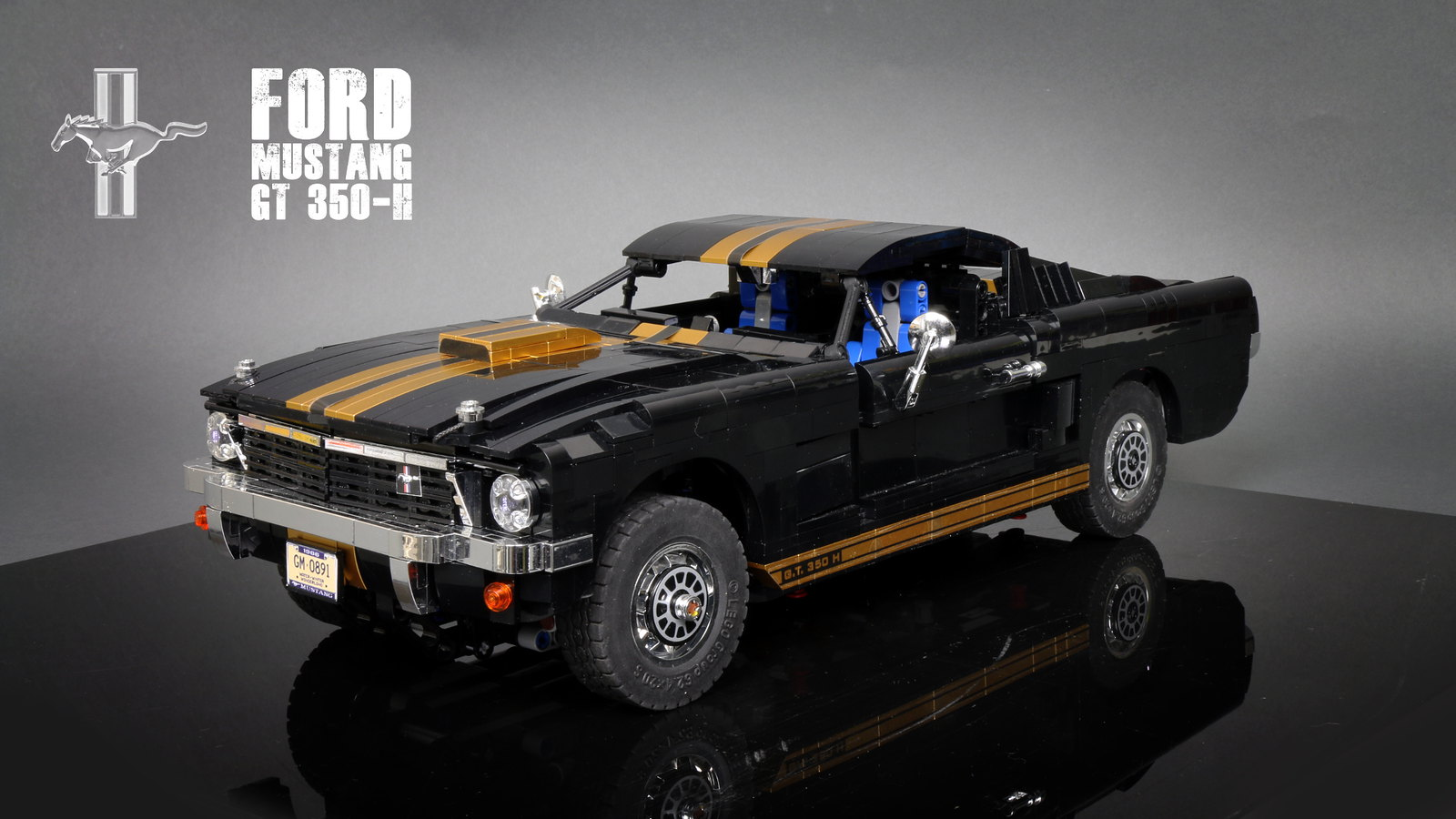 lego ford mustang instructions