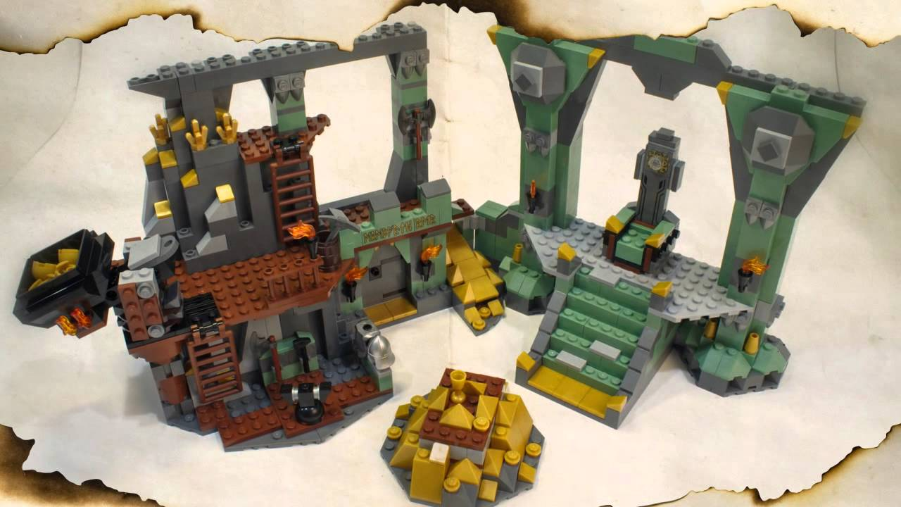 Lego hobbit how to get snowtapult