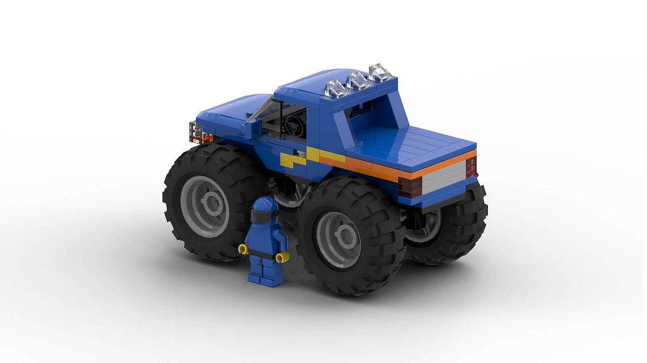 lego monster truck instructions